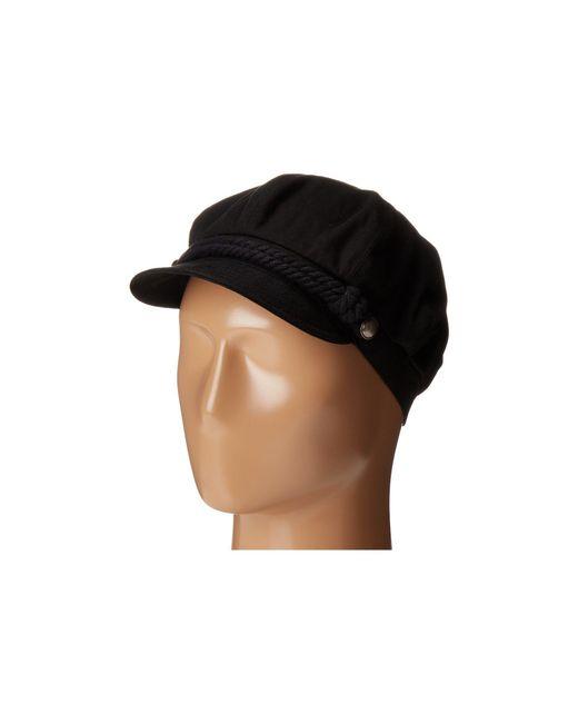 d77548405ba Betmar - Black Fisherman Cap (white navy) Caps - Lyst ...