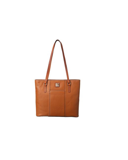 Dooney & Bourke - Brown Lexington Shopper (caramel) Tote Handbags - Lyst