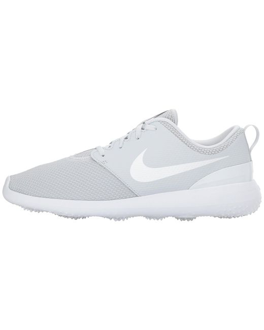 ea66edf8f9d3 Lyst - Nike Roshe G (university Red white) Men s Golf Shoes in White ...