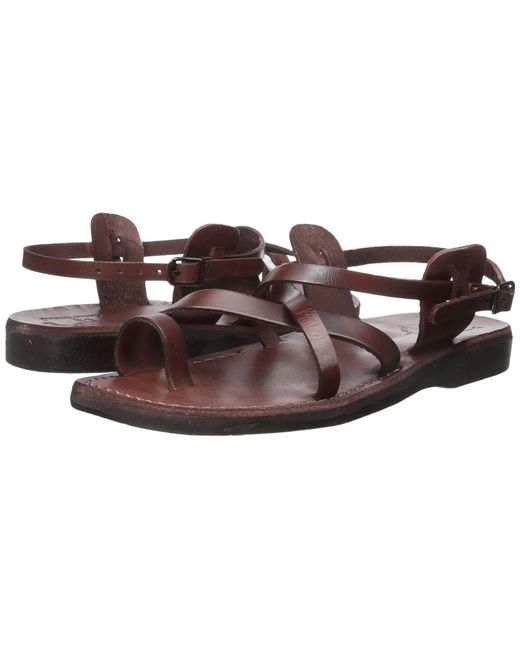 75f17aad327 Jerusalem Sandals - Brown The Good Shepherd Buckle - Mens (black) Men s  Shoes for ...