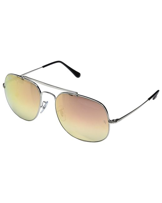 Ray-Ban - Metallic 0rb3561 The General 57mm (shiny Gold Frame/classic Green Lens) Fashion Sunglasses - Lyst