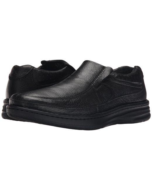 Drew - Black Bexley (brown Tumbled) Men's Slip-on Dress Shoes for Men - Lyst