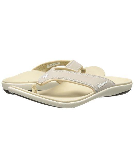 Spenco - Metallic Yumi (black) Women's Shoes - Lyst