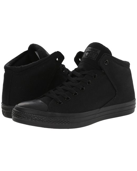 Converse | Black Chuck Taylor® All Star® High Street Mono Canvas Hi | Lyst