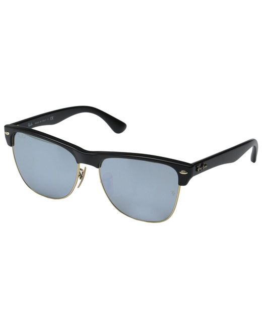 Ray-Ban | Black Clubmaster Oversized 57mm | Lyst