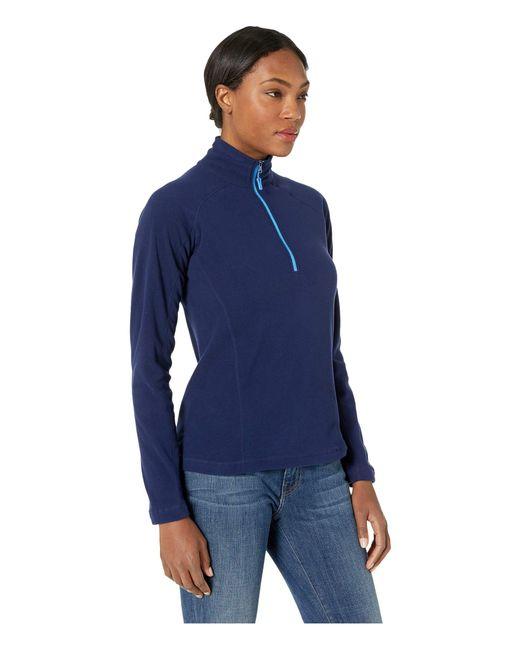 ... Marmot - Blue Rocklin 1 2 Zip (black) Women s Clothing - Lyst 891ad360e