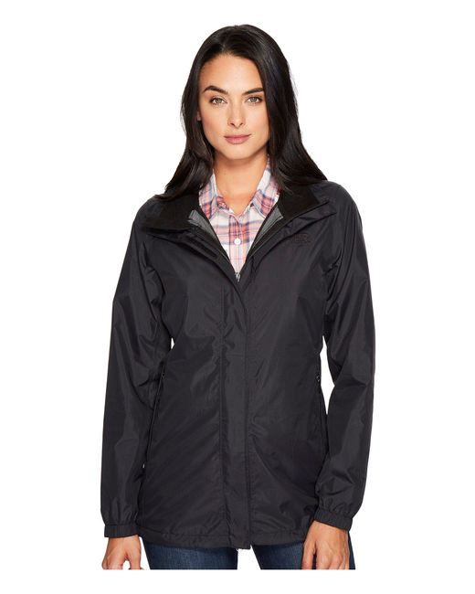 The North Face - Black Resolve Parka (mid Grey) Women's Coat - Lyst