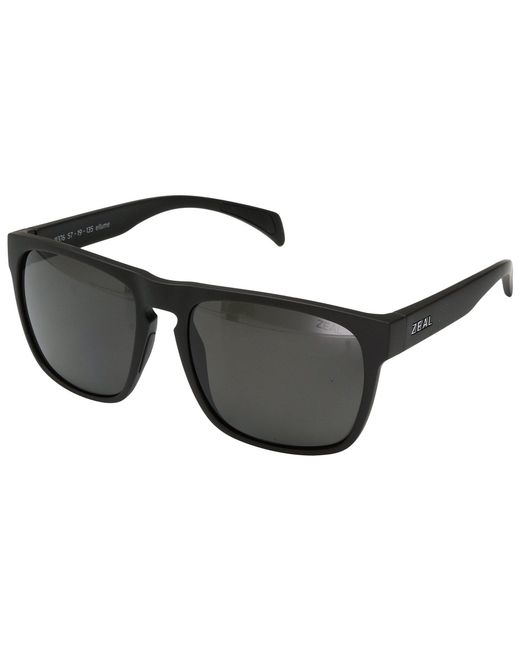 Zeal Optics - Capitol (matte Black W/ Polarized Dark Grey Lens) Sport Sunglasses - Lyst