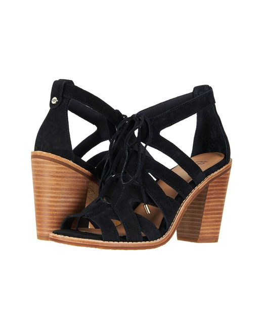 Ugg - Black Harris (chestnut) High Heels - Lyst