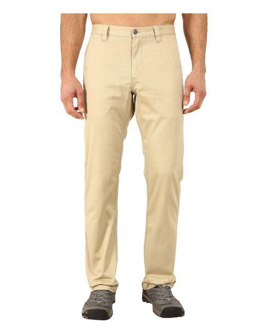 Mountain Khakis - Natural Slim Fit Teton Twill Pant (retro Khaki) Men's Casual Pants for Men - Lyst