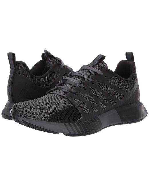 Lyst - Reebok Fusion Flexweave Cage (black true Grey) Men s Shoes in ... d7b8777786