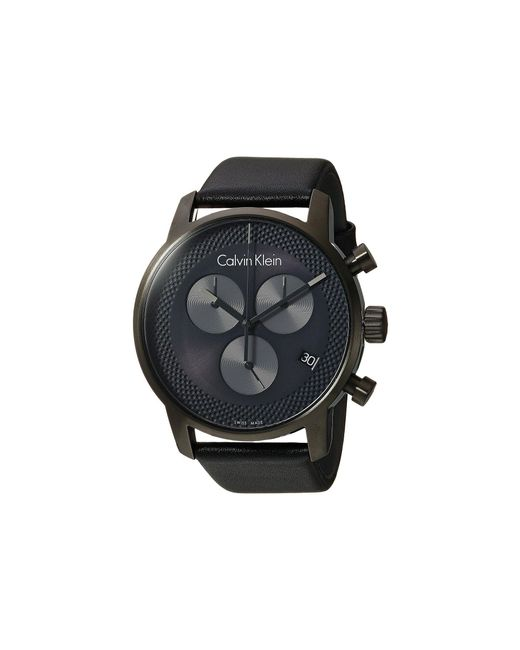 CALVIN KLEIN 205W39NYC - Gray City Watch - K2g177c3 for Men - Lyst