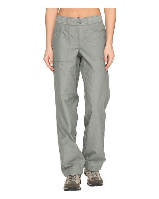 The North Face - Gray Horizon 2.0 Pants (granite Bluff Tan Heather) Women's Casual Pants - Lyst
