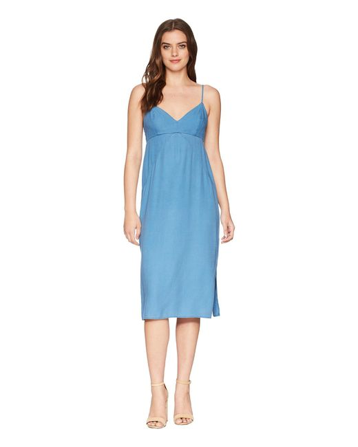 Splendid - Blue Double Layer Cami Dress - Lyst