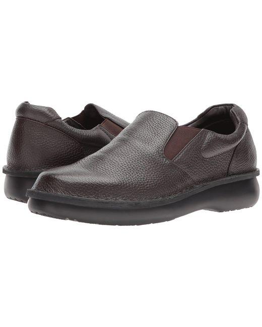 Propet - Black Galway Walker (dark Brown Grain) Men's Shoes for Men - Lyst