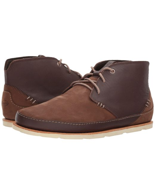 Chaco - Brown Thompson Chukka (pinecone) Men's Shoes for Men - Lyst