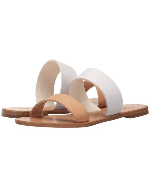 Joie - Sable (white/natural) Women's Sandals - Lyst