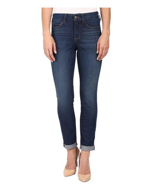 NYDJ | Blue Anabelle Skinny Boyfriend Jeans In Atlanta | Lyst