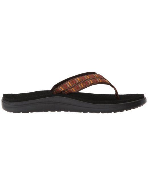 84da70243f9f4 ... Teva - Multicolor Voya Flip (zook Black) Men s Sandals for Men ...