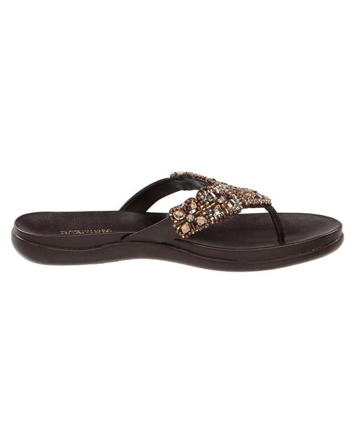84539fb66941fa ... Kenneth Cole Reaction - Brown Glam-athon (pewter) Women s Sandals ...