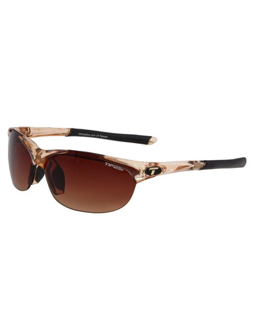 Tifosi Optics - Wisptm Interchangeable (crystal Brown/brown Gradient/ac Red/clear Lens) Sport Sunglasses - Lyst