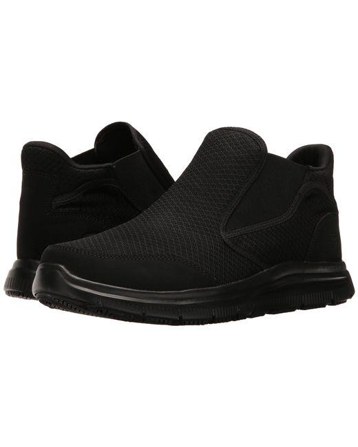 Skechers Work - Black Flex Advantage Sr - Alburne for Men - Lyst