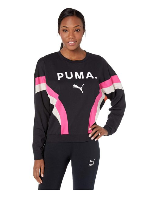 500a0527 PUMA Chase Women's Long Sleeve Top in Black - Save 2% - Lyst