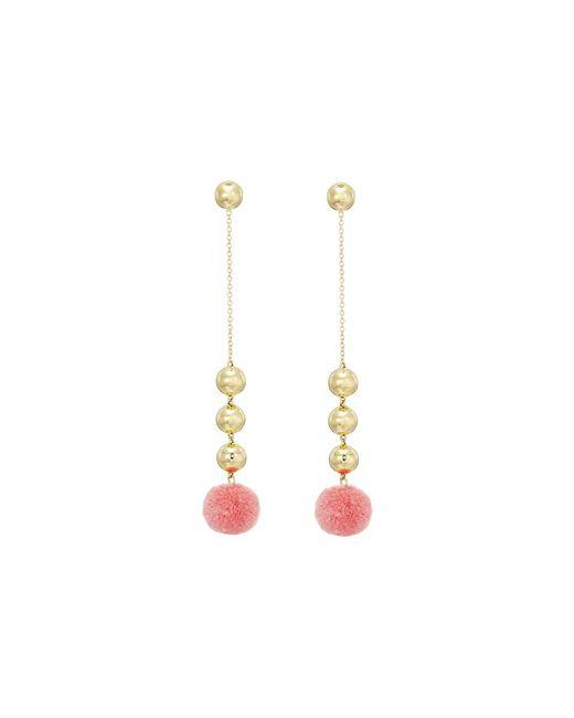 Elizabeth and James | Pink Boca Earrings | Lyst