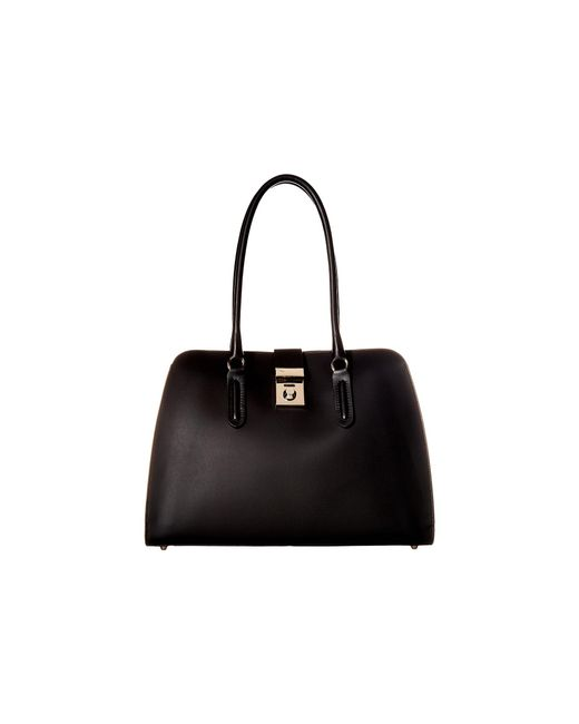 Furla - Black Milano Medium Tote - Lyst