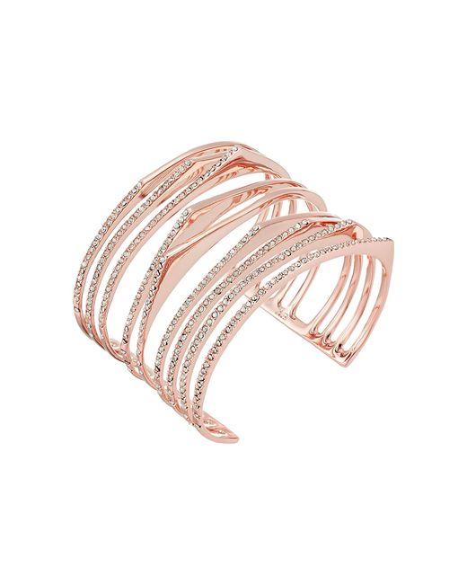 Alexis Bittar | Metallic Crystal Encrusted Origami Cuff Bracelet | Lyst