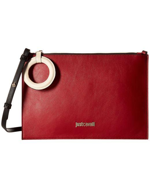Just Cavalli   Red Medium Fabric Bag   Lyst