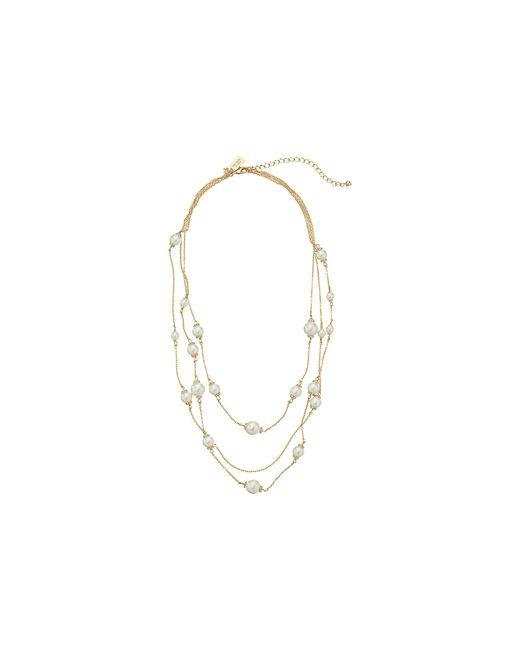 Kate Spade | Multicolor Triple Strand Necklace | Lyst