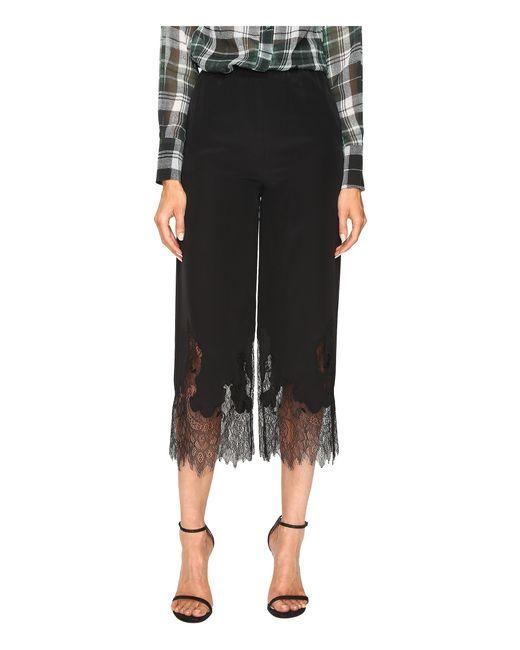 McQ Alexander McQueen | Black Fluid Cropped Pants | Lyst