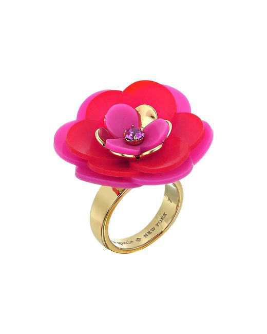Kate Spade | Multicolor Rosy Posies Ring | Lyst
