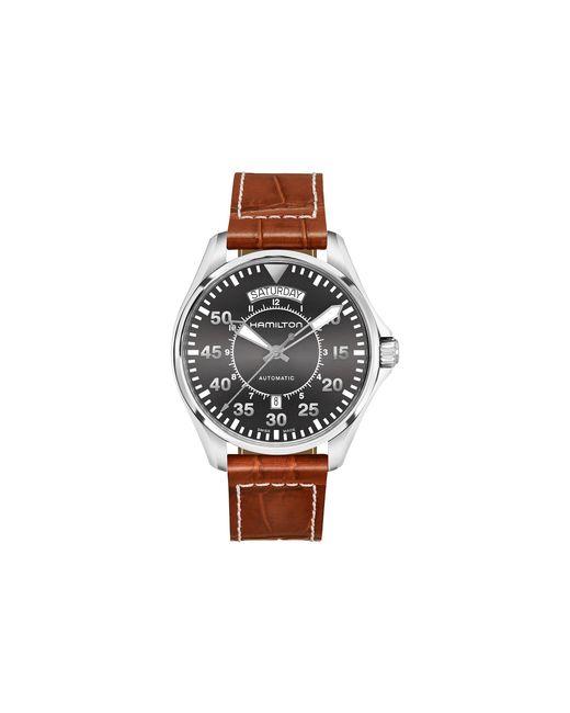 Hamilton - Gray Khaki Pilot Day Date - H64615585 for Men - Lyst