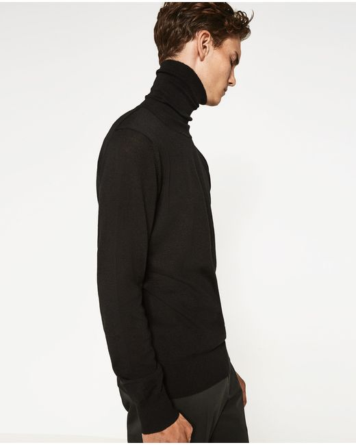 Zara Turtleneck Sweater Mens 114