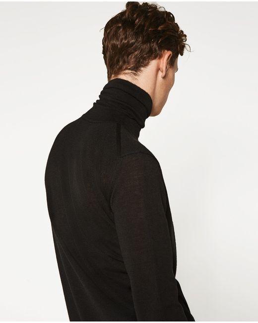 Zara Turtleneck Sweater Mens 82