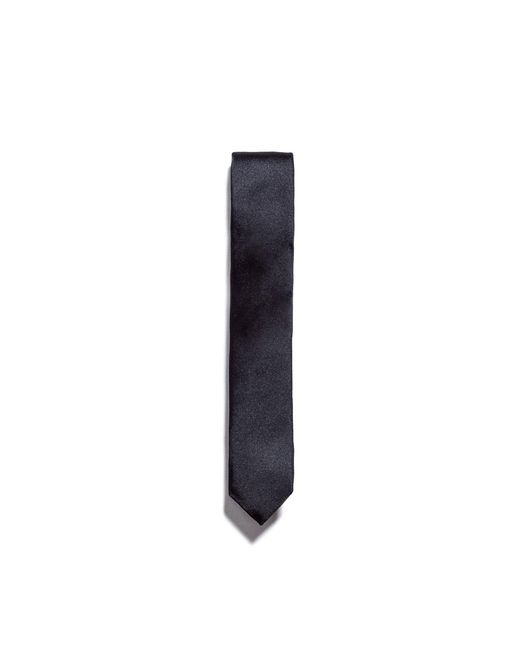 Zara | Black Satin Tie for Men | Lyst