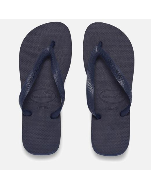 ff0c56b8f Havaianas - Blue Top Flip Flops for Men - Lyst ...