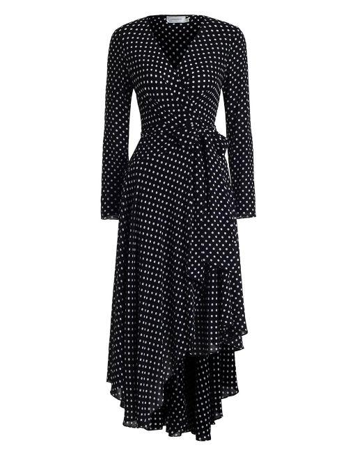Zimmermann   Black Stranded Wrap Dress   Lyst