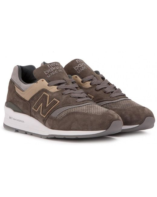 New Balance Men's Natural M 997 Dra2 Made In Usa