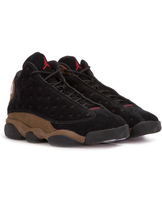 "Nike Men's Black Nike Air Jordan Xiii Retro ""altitude"""
