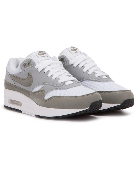"Nike Men's White Nike Wmns Air Max 1 ""navy"""