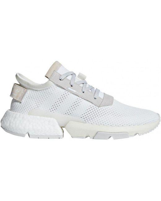 adidas Men's White Pod-s3.1