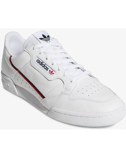 adidas Originals Men's White Rascal Low-top Leather Trainers
