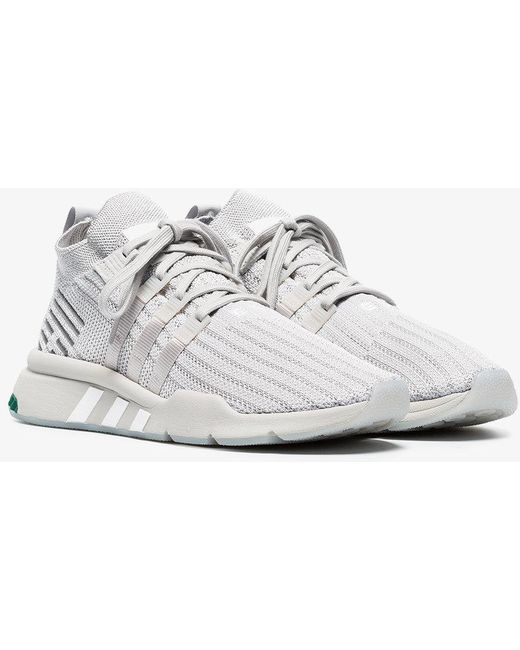 adidas Men's Gray Grey Eqt Support Rf Sneakers