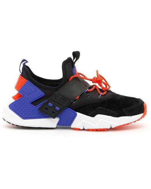 Nike Men's Red Air Huarache Sneakers