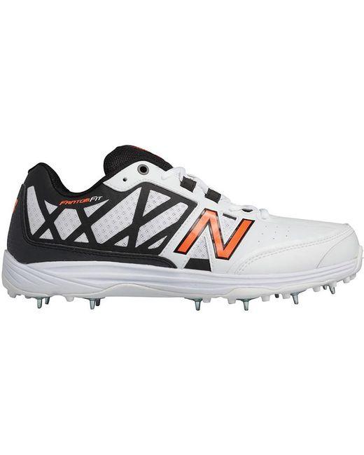 New Balance Men's White Ck10 V2 Cricket Spike Trainers