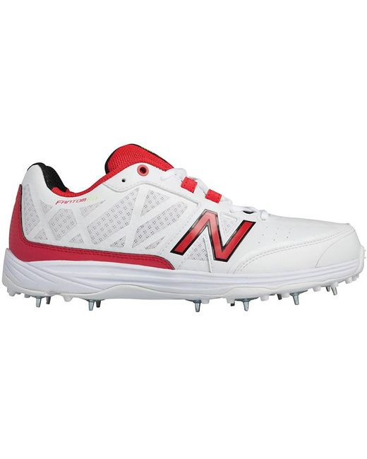 New Balance Men's White Ck10 V2 Cricket Spike Trainers