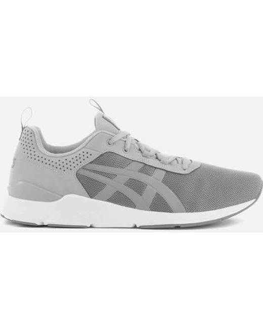 Asics Men's Gray Gel-lyte Runner Mesh Trainers